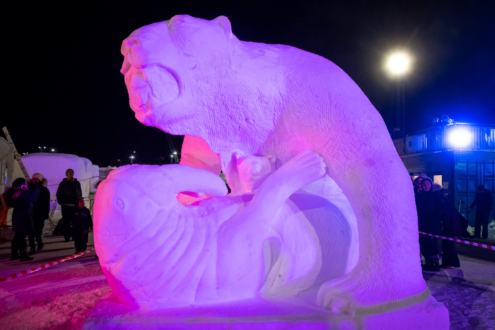 Nuuk Snow Fest 2020 at Sikuki Nuuk Harbour